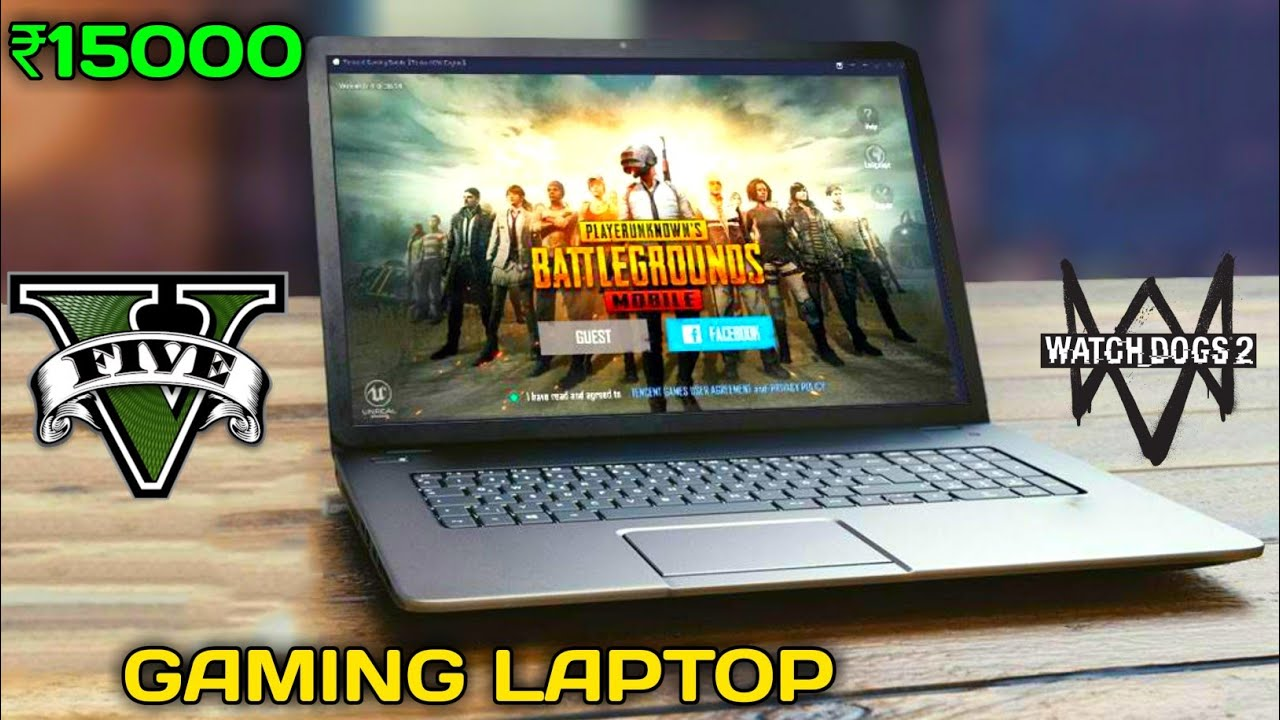 Best GAMING laptop under 15k | Play PUBG , GTA 5 ,WATCH DOGS and many more games in this laptop