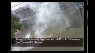 ntn24 venezuela siguen los ataques de la gnb a urbanizaciones en san cristbal