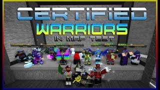 Roblox | Flood Escape 2 - Biggest Warriors Gathering in Map Test! [STORY + GAMEPLAY]