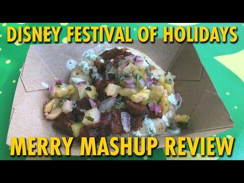 Merry Mashup Marketplace Review at Disney Festival of Holidays | Disneyland
