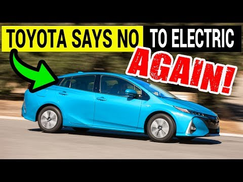 Toyota Confirms Electric Cars is Not Their Thing