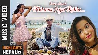 Aakhama - Samir Hamal Ft. DJ Santosh | Anita TGI | Kuber Karki | New Nepali Song 2018/2075
