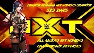 All Asuka's NXT Women's Championship Defenses