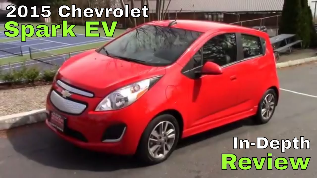 2015 Chevrolet Spark Ev Review Youtube