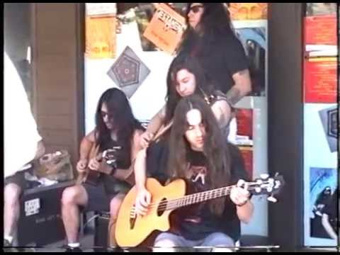 Testament (Acoustic) @ Wherehouse Records. Palm Springs, CA 1992 (FULL SHOW)