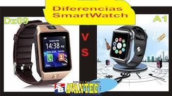 Diferencias entre SmartWatch Dz09 vs A1 Sim & Cámara [AvanTec Perú