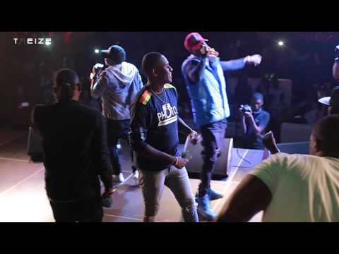 Kiff No Beat Cotonou 2016 Dream Beach (Semi-live Performance)