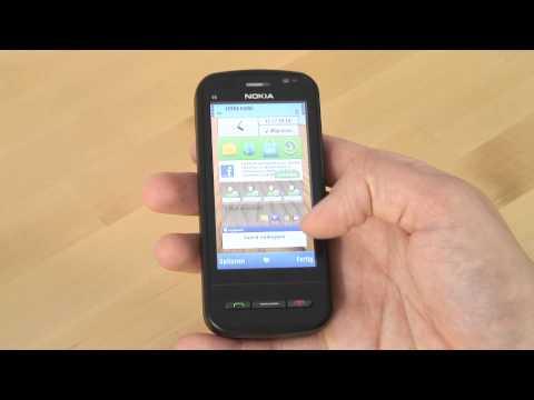 Nokia C6 Test Bedienung