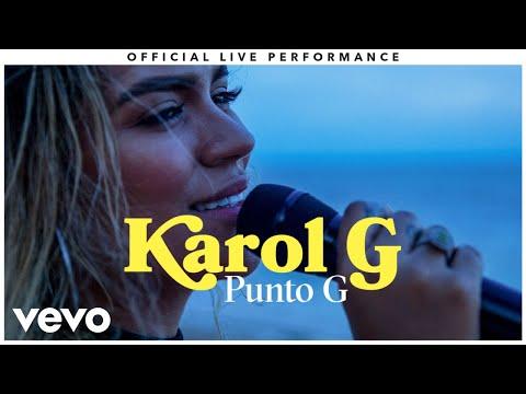 "Karol G - ""Punto G"" Official Live Performance | Vevo"