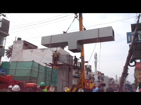Longest Steel Flyover In South India Under Construction