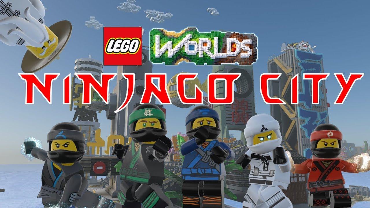 NINJAGOCity in LEGO Worlds!