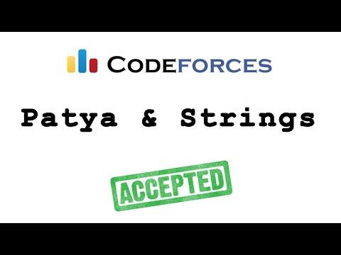 """Codeforces """"Petya &"""