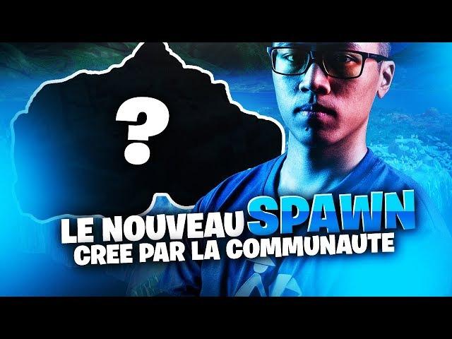 LE NOUVEAU SPAWN FORTNITE CREE PAR LA COMMUNAUTE