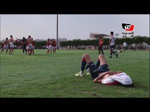 المصري اليوم:صدمة وانهيار لاعبي الزمالك بعد فوز الأهلي وحصوله على دوري القطاعات