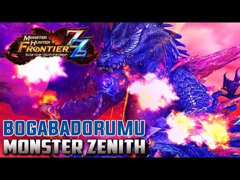 「Monster Hunter Frontier Z」 Cazando a Bogabadorumu Zenith | MHFZ Gameplay Español