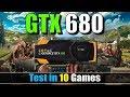 GTX 680 Test in 10 Games