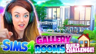 🏡GALLERY ROOMS ONLY!!🏡 -  The Sims 4 BUILD Challenge