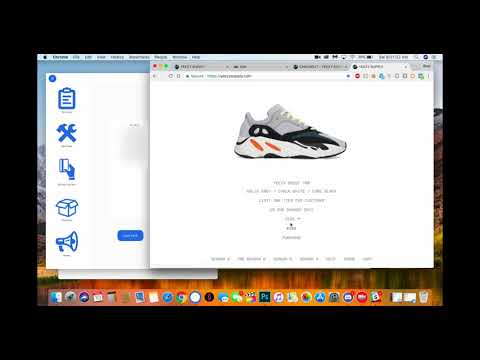 AIO Mac Bot ABSOLUTELY ANNIHILATES Yeezy Boost 700s (6 Pairs on Yeezy Supply)