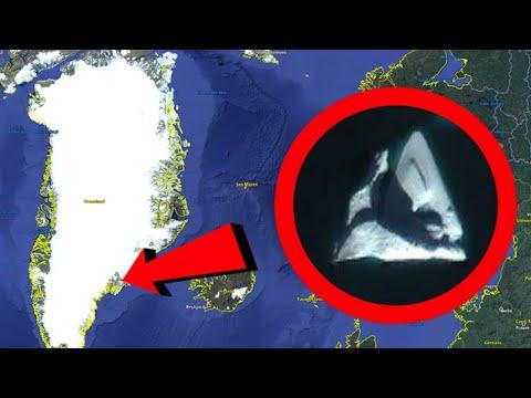 Grönland UFO görüntüsü.
