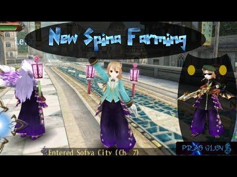 Toram Online New Spina Farming ( Alice Cinema Edition )