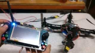 [2013.10.06] 四軸飛行器自製遙控器 Quadcopter Remote Controller