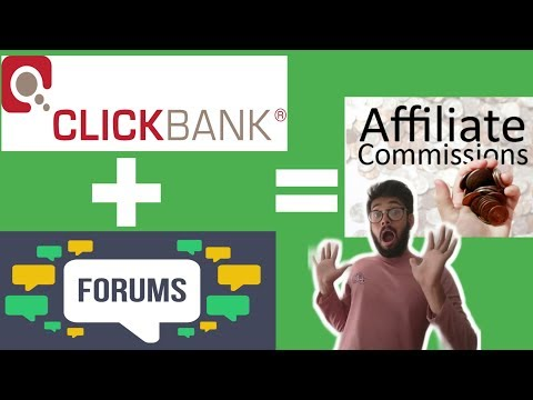 Make Money Online With Clickbank And Forums Easy Method