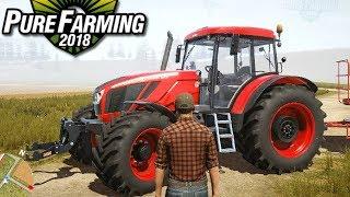 Pure Farming 2018 [DEMO] - Żniwa w USA! | #1