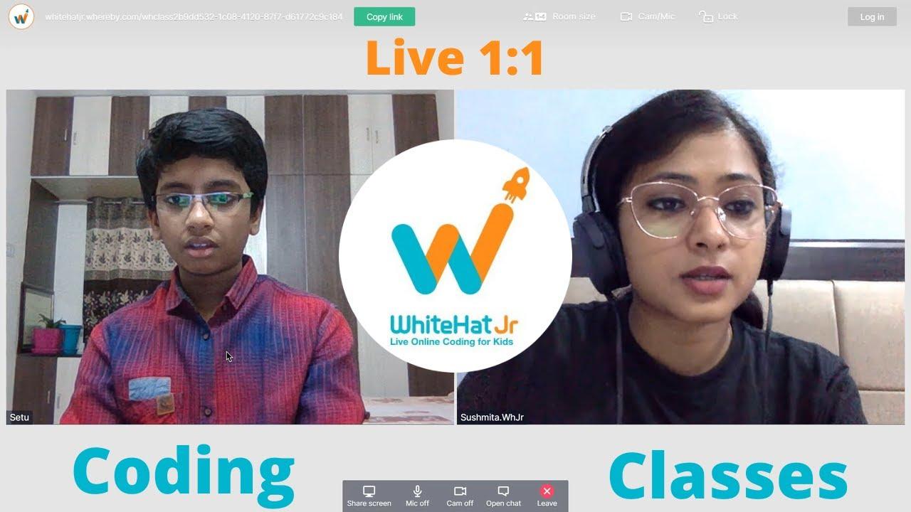 WhiteHat Jr [Live 1:1 Online Coding Classes] - YouTube