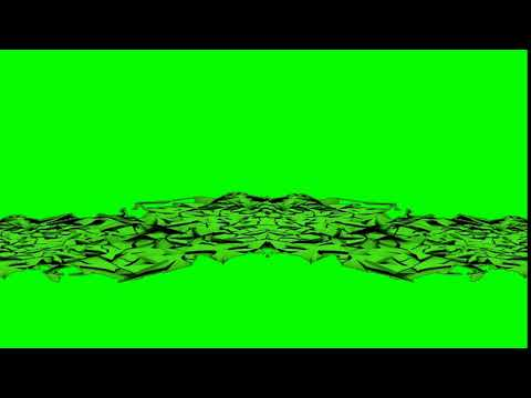 crack ground green screen effect with sound || no copyright ||