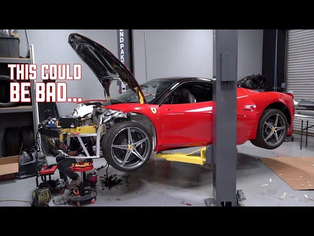 Ferrari 458 Wiring DISASTER! This will Make or Break it....