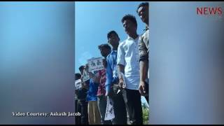 Human Chain on Chennai