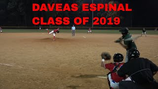 DAVEAS ESPINAL PITCHING HIGHLIGHTS CRUSADERS BASEBALL CLUB AND MONROE WOODBURY HIGH SCHOOL