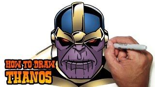 How to Draw Thanos | Marvel Comics