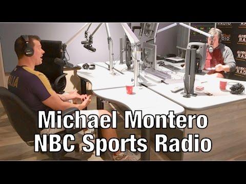 Michael Montero on NBC Sports Radio
