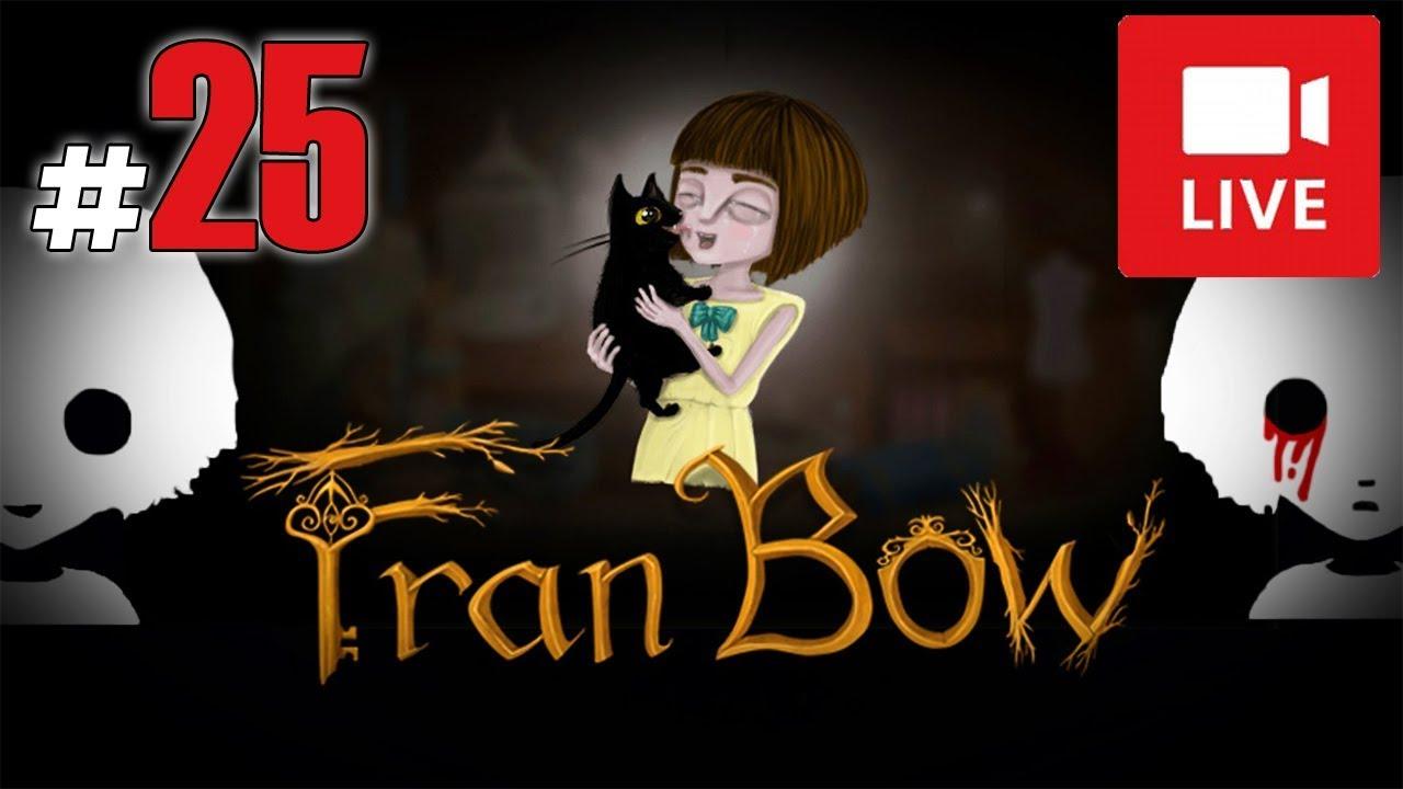 """[Archiwum] Live – Fran Bow! (13) – [1/2] – """"Leczenie łzami i Remor"""""""