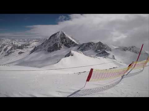 Stubai Glacier, Dip Into White!