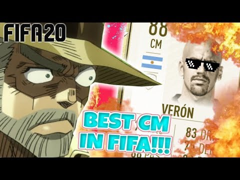 THE BEST CM IN FIFA 20!!!! | ICON VERON PLAYER REVIEW FIFA 20