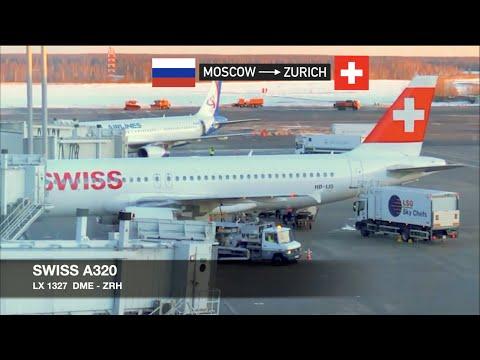 TRIP REPORT | SWISS A320 | Moscow DME ✈ Zürich | Economy Class
