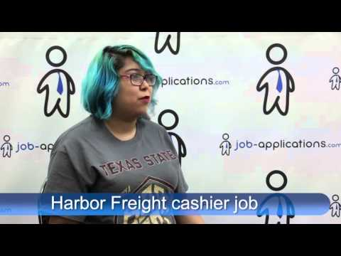 Harbor Freight Interview - Cashier