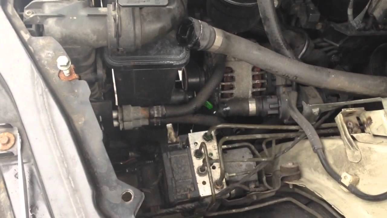 bmw e46 e53 x5 coolant expansion tank removal and fix 320i 323i 325i 328i 330i [ 1280 x 720 Pixel ]