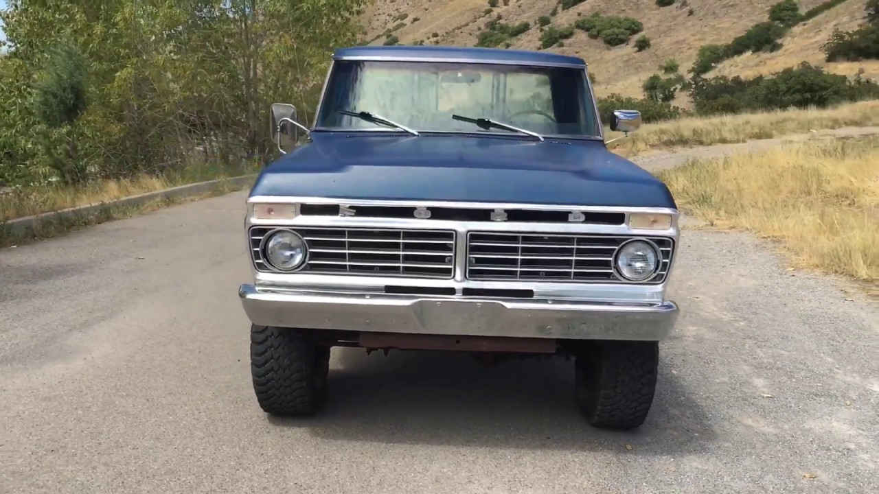 Sold 1975 Ford F 250 For Sale 3000 Youtube