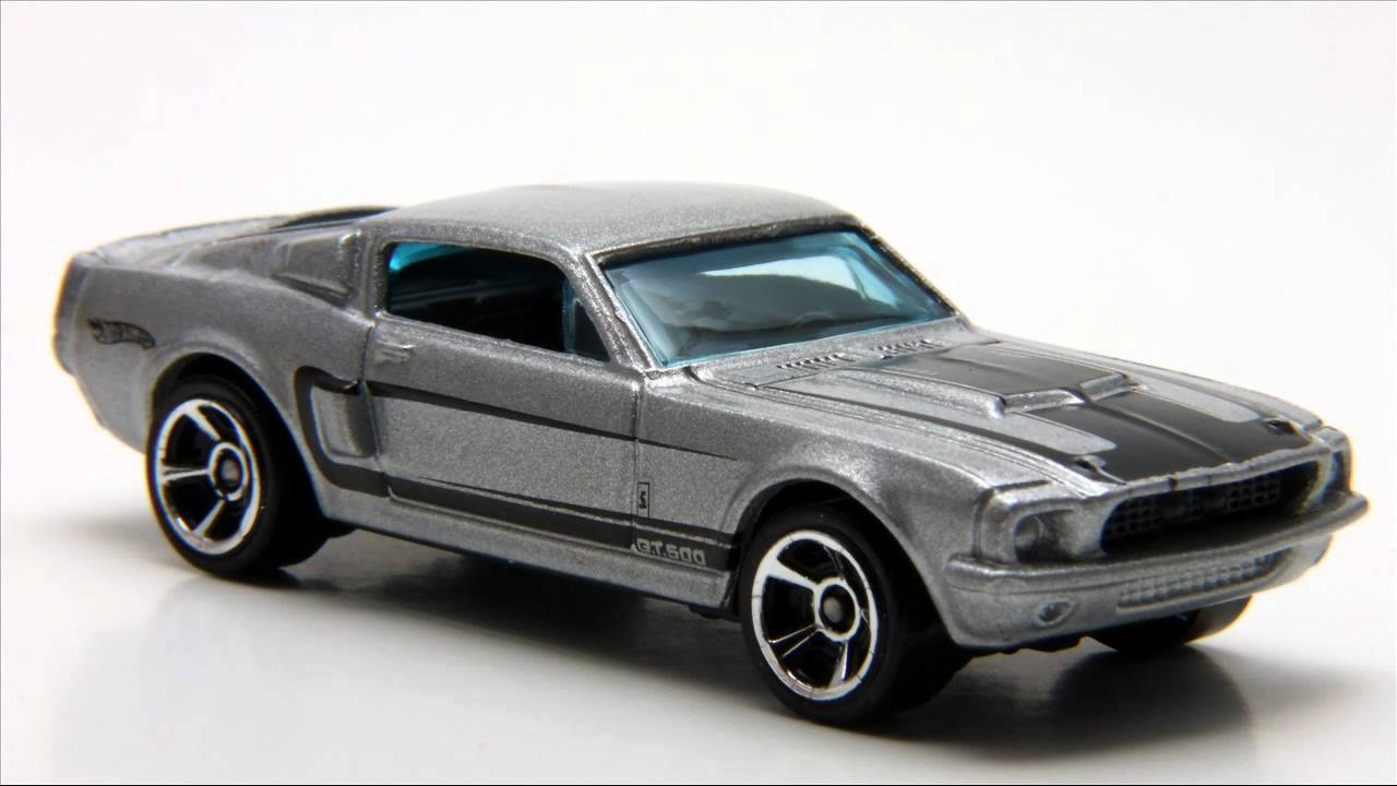 Hot Wheels Cars Muscle Mania 2011 67 Shelby Gt500 Youtube