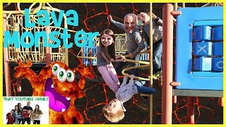 Lava Monster - Playground Wars / That YouTub3 Family