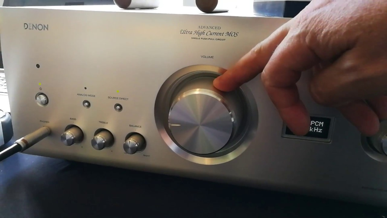 Denon PMA-2500NA - YouTube
