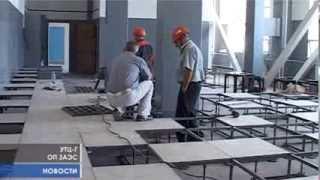 Кран мостовой(На строящемся объекте корпуса Г кран мостовой готов к работе. В ближайшие четыре месяца с его помощью будет..., 2013-08-02T10:12:58.000Z)