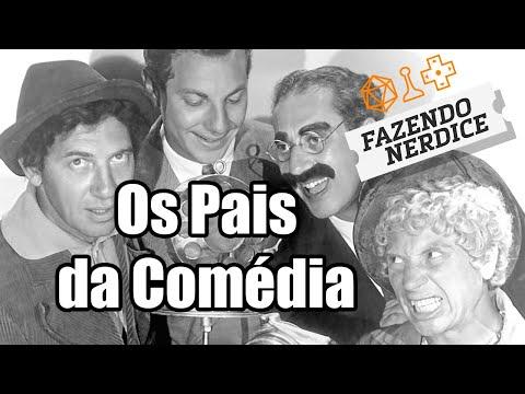 Os Irmãos Marx - A Invenção Da Comédia Falada