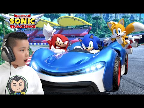 Sonic Team Racing CKN Gaming |