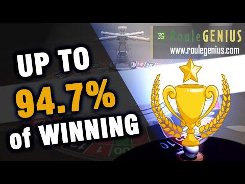 0 - #8 Percentage of Winning   RouleGENIUS