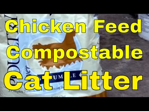 Inexpensive and Environmentally Responsible management of kitty litter