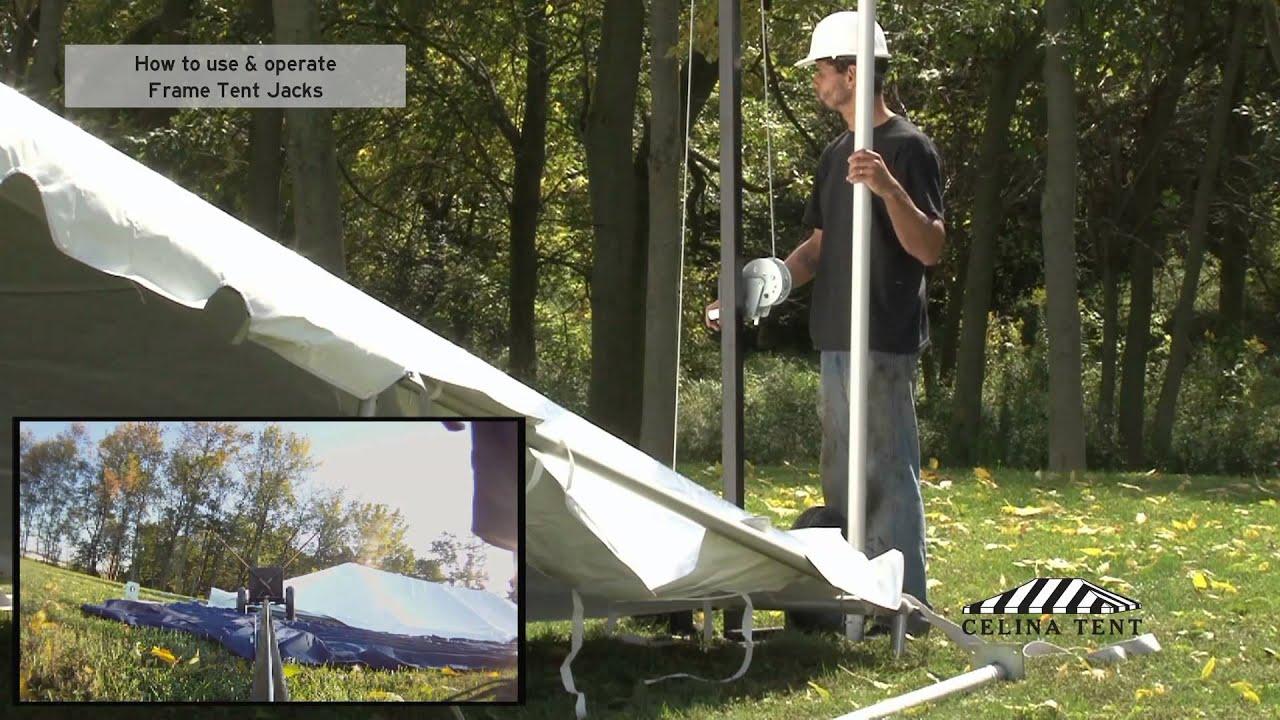 & Frame Tent Basics - Frame Tent Jack - YouTube
